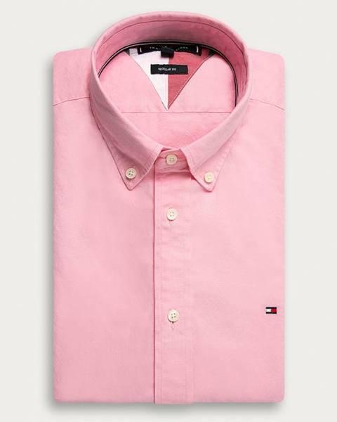 Ružová košeľa Tommy Hilfiger