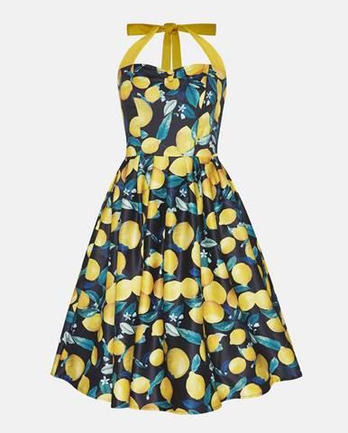 Modré šaty Dolly & Dotty