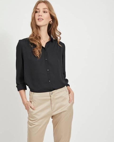 Čierna košeľa Vila