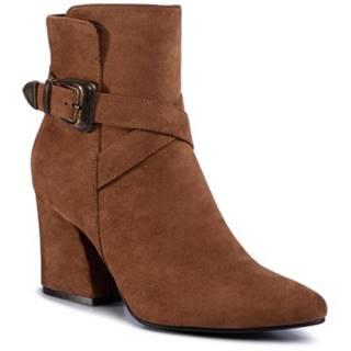 Členkové topánky DeeZee LS5271-01 Materiał tekstylny