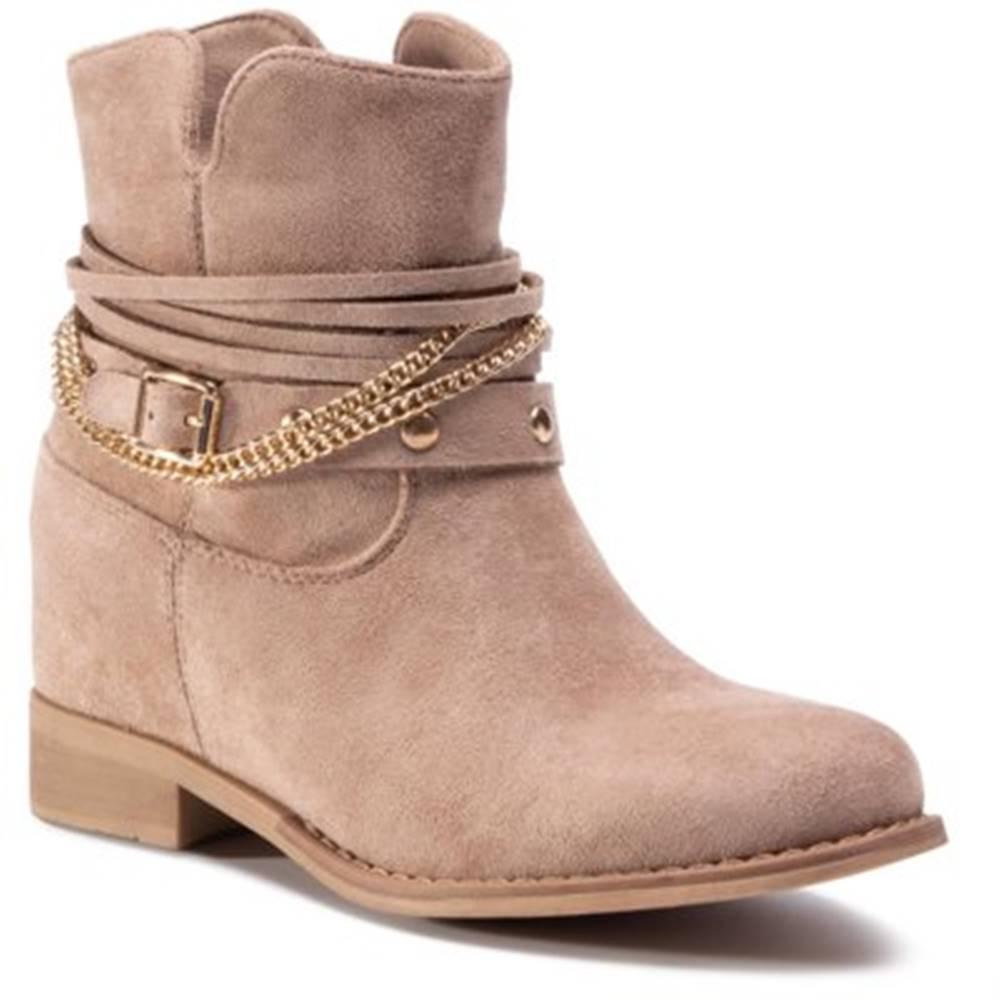 DeeZee Členkové topánky DeeZee WS2991-08 Materiał tekstylny