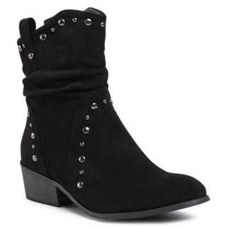 Členkové topánky Jenny Fairy WS8991-10 Materiał tekstylny