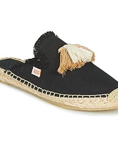 Čierne sandále Banana Moon