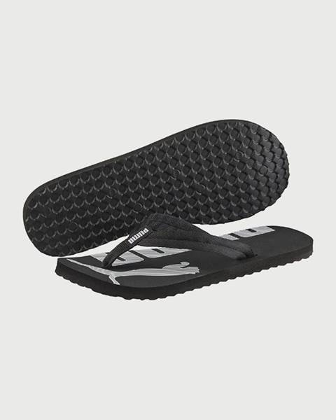 Čierne sandále Puma