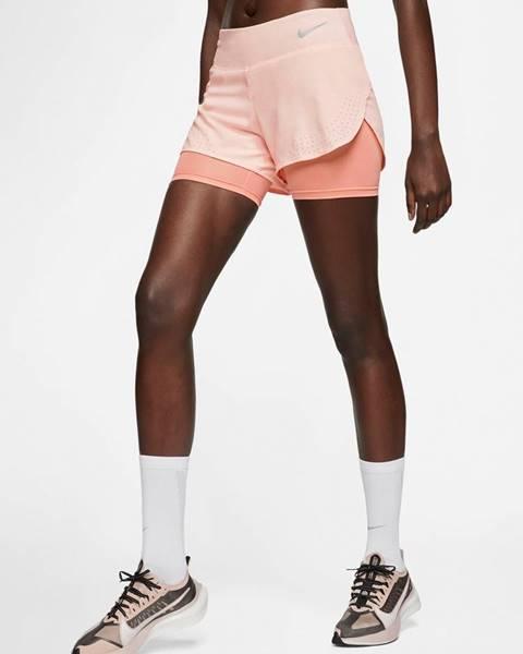 Ružové šortky Nike