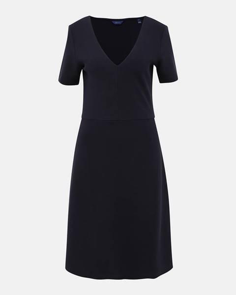 Tmavomodré šaty Gant