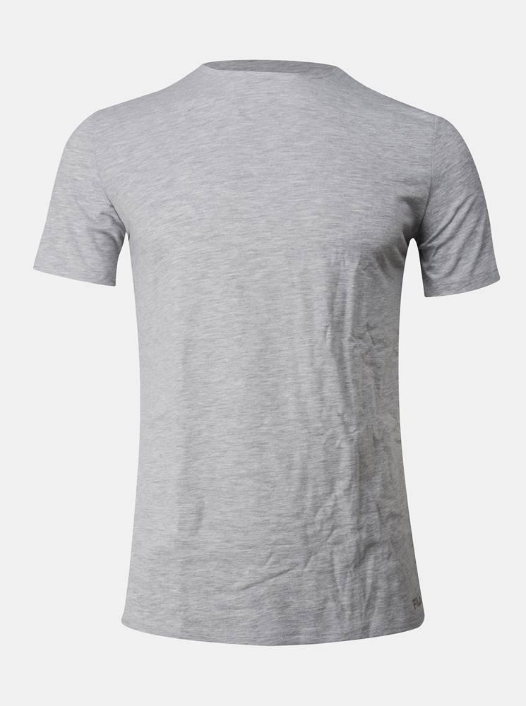 Fila Šedé pánske basic tričko pod košeľu FILA