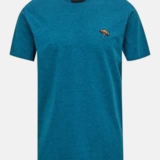 Modré tričko Selected Homme Astor
